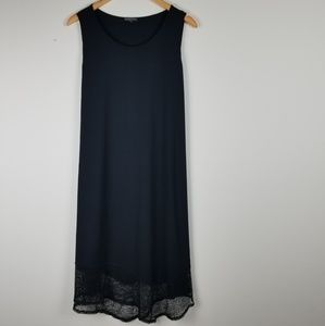 Eileen Fisher Black Dress (size M)